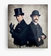 Sherlock - Benedict Cumberbatch Metal Print