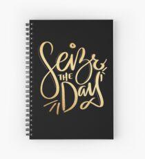 Cuaderno de espiral Aprovecha el día.