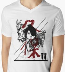 Kubo and the Two Strings Men's V-Neck T-Shirt