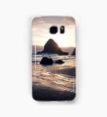 Pacific Coast Sunset in Oregon Samsung Galaxy Case/Skin