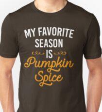 My Favorite Season Is Pumpkin Spice T-Shirt