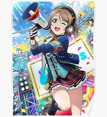 Initial You Watanabe (Idolized) Poster