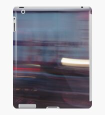 Harley lights trail iPad Case/Skin