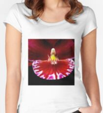 Prom - Orchid Alien Discovery Women's Fitted Scoop T-Shirt