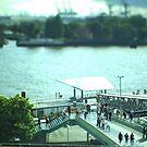 Hamburg Landungsbrücken -Tiltshift (7) by OLIVER W