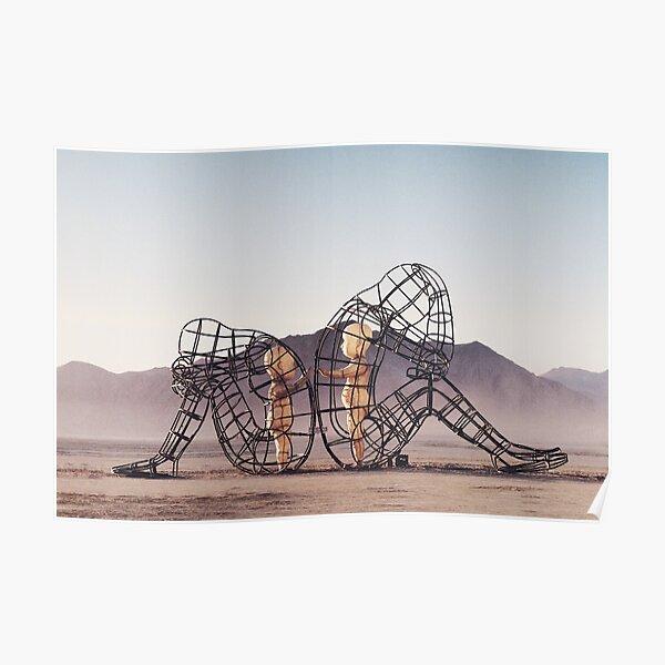 Burning Man, Inner child Photography Poster