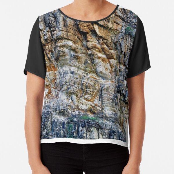 Rock Chasm II Chiffon Top