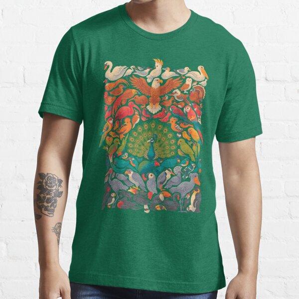 Aerial Spectrum : Green Essential T-Shirt
