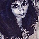 Queen Berúthiel by Peter Xavier Price