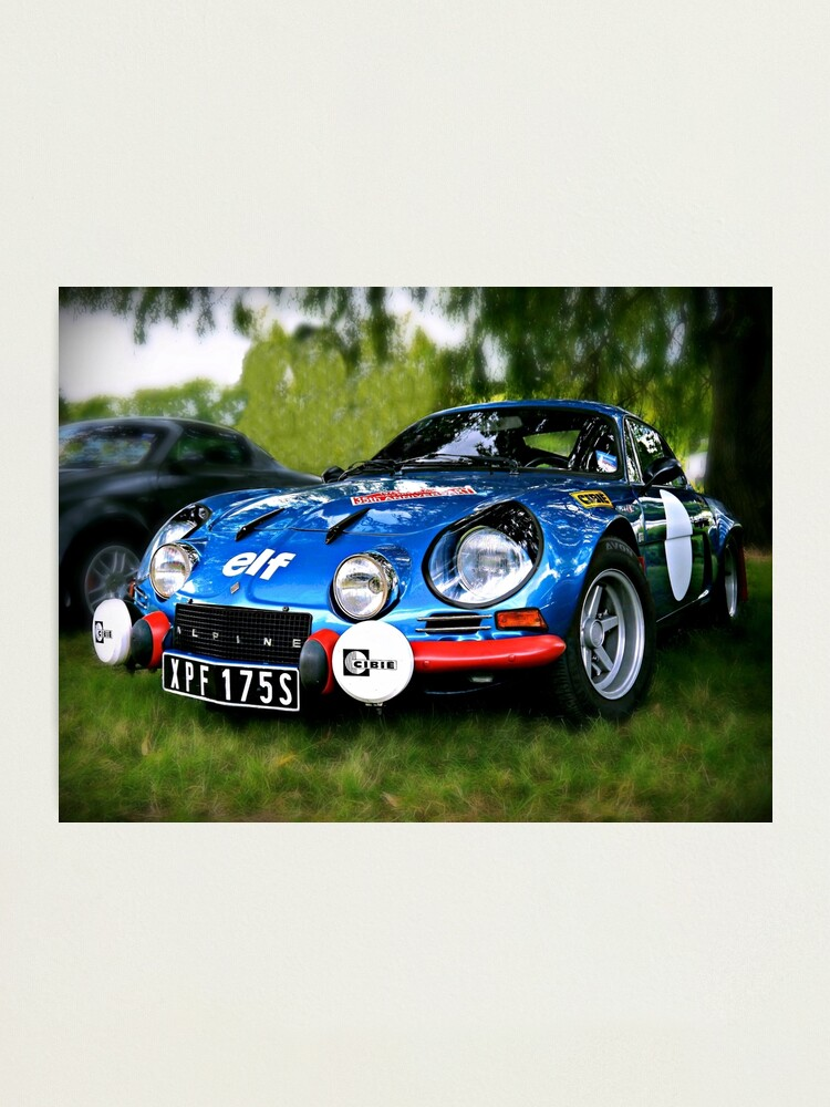 """Alternate view of The Alpine A110 """"Berlinette"""" Photographic Print"""