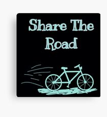 Share The Road Canvas Print