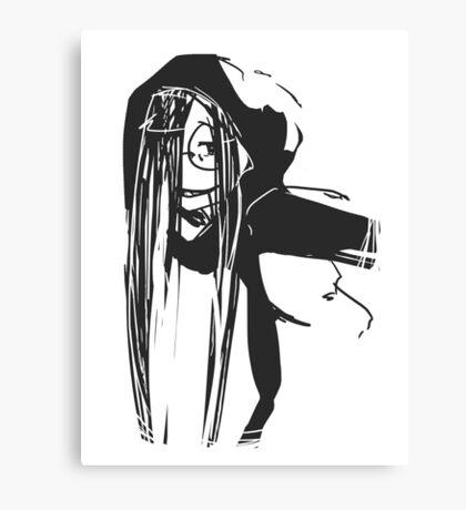 Hoodie Canvas Print