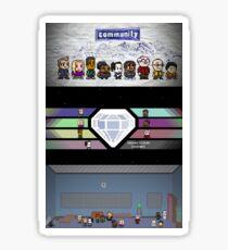Community - Full Poster Sticker