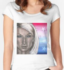 Super Woman Women's Fitted Scoop T-Shirt