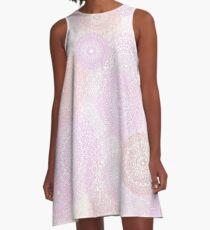 pink laces 2 A-Line Dress
