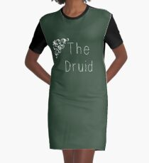 Class Series: The Druid Graphic T-Shirt Dress