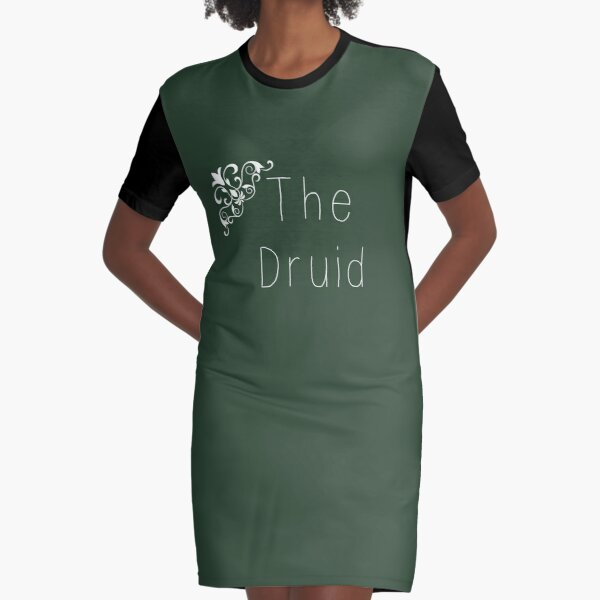 Class Series: The Druid Graphic T-Shirt Dress
