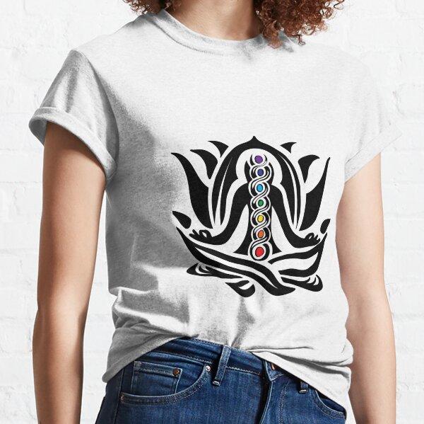Yoga Chakra Kundalini Awakening Meditation Classic T-Shirt