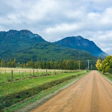Acacia Lane and the Cathedral Ranges by sjphotocomau