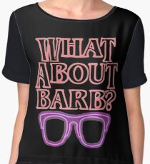 What About Barb ? Chiffon Top