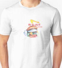 IN -N-OUT burger illustration  Unisex T-Shirt