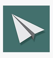 Paper Airplane 4 Photographic Print