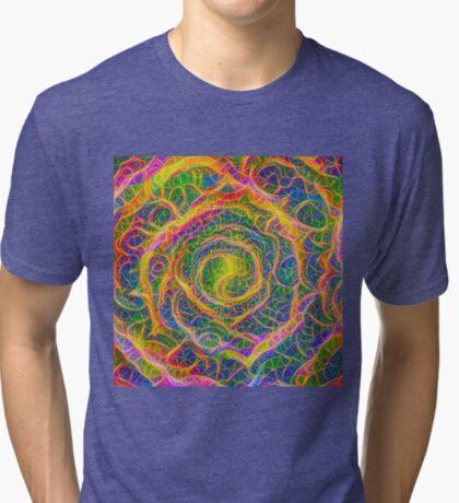 Spider web #DeepDream Tri-blend T-Shirt