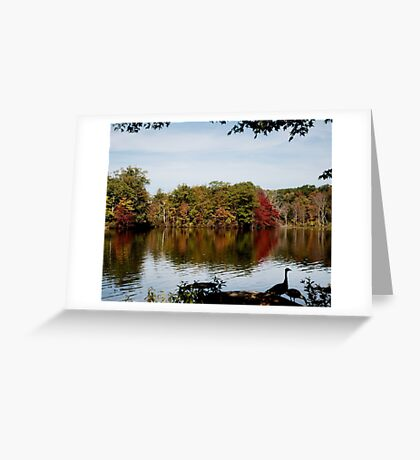 Beginning of Autumn Greeting Card