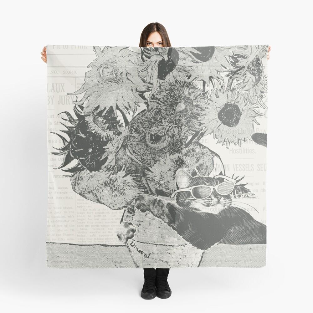 Sunflowers Tuch