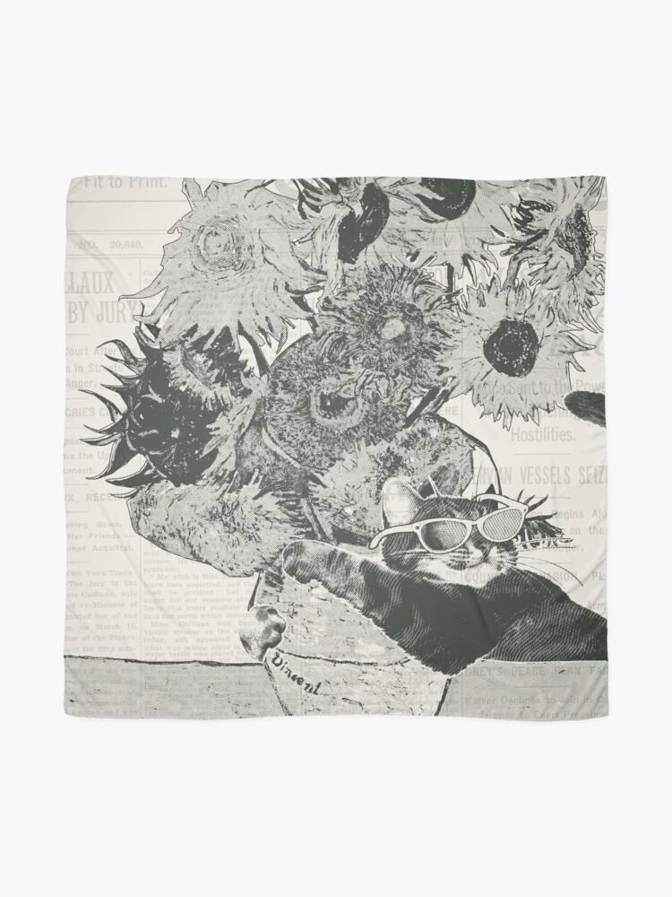 Alternative Ansicht von Sunflowers Tuch