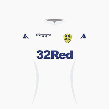 Leeds United Home Shirt 16-17 Phone Case for Samsung by danmarsham