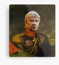 Monsieur Arsene Wenger Metal Print