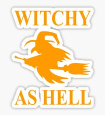 Witchy as Hell Sticker