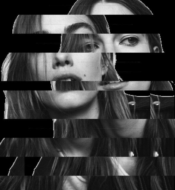 Girl glitch by Adaracocoli
