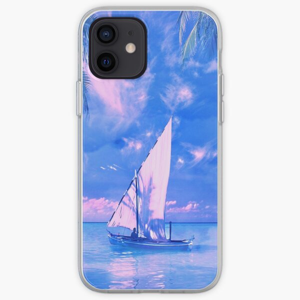 Tropical yachting iPhone Soft Case