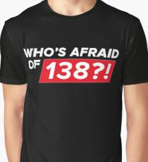Who's afraid of 138?! Graphic T-Shirt