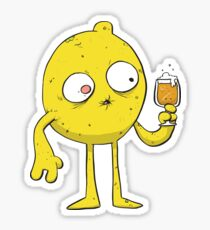 Sour Beer Monster Sticker
