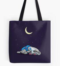 Derpkitty sleeping Tote Bag