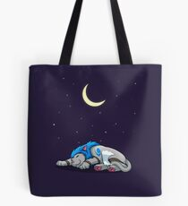 Derpkitty sleeping Tote Bag