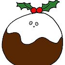 Christmas Pud by avillustrations