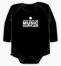 Vinyl music supplier (white) Kids Clothes