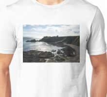 Dunnottar Castle Scotland Low Tide Unisex T-Shirt