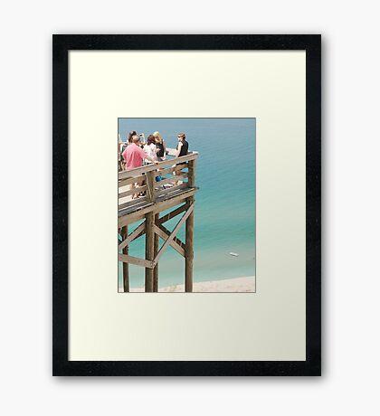 Observation Deck Framed Print