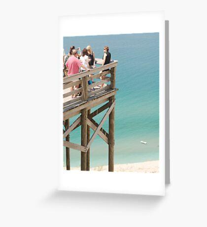 Observation Deck Greeting Card
