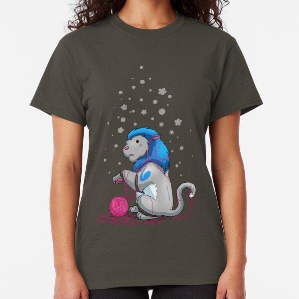 Derpkitty & a yarnball Classic T-Shirt