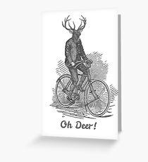 Oh Deer! Greeting Card
