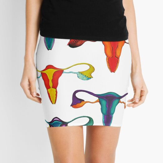 Utereses of every color Mini Skirt