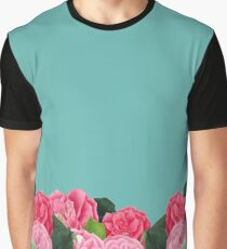 Floral turquoise Graphic T-Shirt