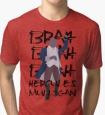 Hercules Mulligan- Hamilton Tri-blend T-Shirt