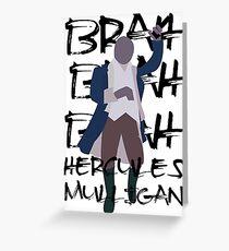 Hercules Mulligan- Hamilton Greeting Card